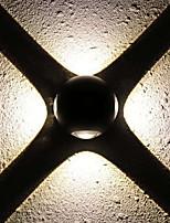 Недорогие -Творчество / Новый дизайн LED / Современный современный Настенные светильники Гостиная / кафе настенный светильник IP44 общий 1 W