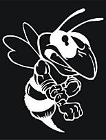 Недорогие -модные злые пчелы наклейки автомобильные наклейки