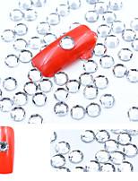Недорогие -5000 шт. Акриловые хрустальные украшения для ногтей блестящие стразы для ногтей аксессуары