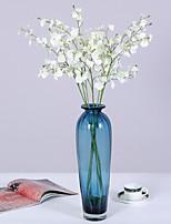 Недорогие -Искусственные Цветы 1 Филиал Классический Свадьба европейский Орхидеи Вечные цветы Букеты на стол
