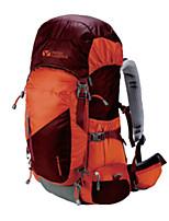 Недорогие -MOBI GARDEN 35-60 L Заплечный рюкзак Быстровысыхающий Пригодно для носки На открытом воздухе Пешеходный туризм Полиэстер Нейлон Вино