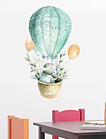 cheap -Hot Air Balloon Decorative Wall Stickers - Plane Wall Stickers Animals Nursery / Kids Room