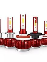 Недорогие -Kingsofe K1 светодиодные лампы для автомобильных фар h4 h7 противотуманные фары h1 h11 9005 9006 50 Вт 3600lm 6000 К белый 2шт