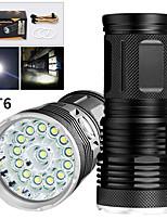 Недорогие -EX14 Светодиодные фонари 11200 lm Светодиодная лампа LED 14 излучатели Руководство 3 Режим освещения Водонепроницаемый Для профессионалов Анти-шоковая защита