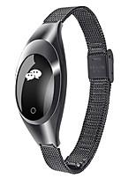 Недорогие -Z18 умный браслет монитор сердечного ритма умные часы для женщин мужчин водонепроницаемый холестерин монитор измерения артериального давления