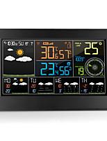 Недорогие -многофункциональный wi-fi цифровой будильник смарт-метеостанция в помещении температура наружного воздуха влажность с приложением управления sm2710-1102