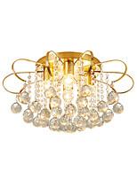 Недорогие -4 светильника хрустальный потолочный светильник современная роскошь капли дождя хрустальные подвесные светильники золотые люстры хрустальные бусины деко для столовой спальни