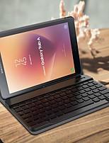 Недорогие -Кейс для Назначение SSamsung Galaxy Tab A2 10.5(2018) Защита от удара / с клавиатурой / Флип Чехол Однотонный Твердый Кожа PU