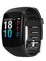 Недорогие -Q11 смарт-часы водонепроницаемый фитнес-браслет большой сенсорный экран Oled сообщение время сердечного ритма SmartBand активность трекер браслет