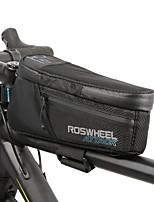 Недорогие -1.5 L Бардачок на раму Сумки на багажник велосипеда Водонепроницаемость Компактность Водонепроницаемаямолния Велосумка/бардачок ТПУ 600D Ripstop Водонепроницаемый материал Велосумка/бардачок