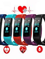Недорогие -Умный браслет ec01 bluetooth цветной экран монитор сердечного ритма измерения артериального давления фитнес-трекер водонепроницаемый смарт-часы