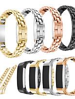 Недорогие -Ремешок для часов для Fitbit Alta HR / Fitbit Alta Fitbit Современная застежка Нержавеющая сталь Повязка на запястье