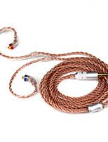 Недорогие -litbest rc-mmcx-35sebr монокристалл высокой чистоты, покрытый медью, с разъемом mmcx и штекером 3,5 мм для наушников для музыкантов для наушников shure se215 / se315 / se425 / se535 / se846