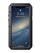 Недорогие -Кейс для Назначение Apple iPhone XS / iPhone X Водонепроницаемый / Защита от удара / Защита от пыли Чехол броня Твердый ПК