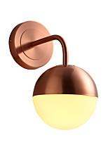 Недорогие -лестницы настенные бра северные простые настенные светильники одноместные современные современные / простые настенные светильники&усилитель; бра бра металлический настенный светильник