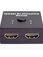 Недорогие -Anykee HDMI 1.4 дистрибьютор / Switcher, HDMI 1.4 к HDMI 1.4 дистрибьютор / Switcher Female - Female 4K*2K 10 Гб / сек.