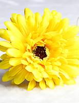 Недорогие -Искусственные Цветы 1 Филиал Классический Сценический реквизит Хризантема Букеты на стол