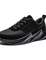 Недорогие -Муж. Комфортная обувь Эластичная ткань Лето / Осень На каждый день Кеды Для прогулок Дышащий Черный / Красный / Коричневый / на открытом воздухе