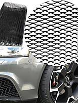 Недорогие -автомобиль черный алюминиевый сплав передний бампер форма чайки воздухозаборная решетка решетка (8x25 мм)