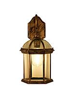 Недорогие -бра для сада и огорода водонепроницаемый кантри / настенный светильник в стиле ретро винтаж / настенные светильники&усилитель; бра открытый металлический настенный светильник ip 65