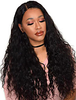 cheap -Synthetic Wig Afro Curly with Baby Hair Wig Very Long Natural Black Synthetic Hair 68~72 inch Women's New Arrival Black