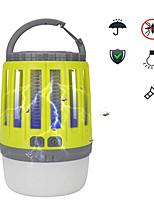 Недорогие -HS0002 Противомоскитные лампы Репеллент LED излучатели с USB кабелем Портативные Защита от ветра Прочный Походы / туризм / спелеология Повседневное использование Рыбалка Зеленый Серый Желтый