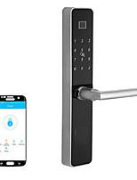 Недорогие -Мобильное приложение дистанционного управления смарт-Bluetooth дверной замок удаленный уполномоченный квартира аренда номер отпечатков пальцев Bluetooth-замок