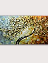 Недорогие -Hang-роспись маслом Ручная роспись - Абстракция Известные картины Классика Modern Без внутренней части рамки