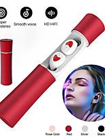 Недорогие -tw20 bluetooth 5.0 беспроводные наушники водонепроницаемый hifi шумоподавление 8d стерео спортивная музыка гарнитура с зарядкой