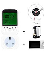 Недорогие -houzetek таймер розетка выключатель ts-4000 us plug цифровой программируемый таймер розетка выключатель отопления охлаждение контроллер температуры