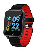 Недорогие -x9 умные часы с шагомером артериального давления артериального давления водонепроницаемый ip68 bluetooth смарт-фитнес-браслет для android ios