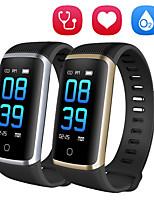 Недорогие -QS06 умный браслет 2 фитнес-браслет водонепроницаемый спортивный трекер сообщение толчок артериальное давление кислорода монитор сердечного ритма часы
