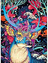 Недорогие -Деревянные пазлы Пазлы и логические игры Elk Стресс и тревога помощи Сбрасывает СДВГ, СДВГ, Беспокойство, Аутизм Декомпрессионные игрушки деревянный 300 pcs Средний уровень Старшая школа Все Игрушки