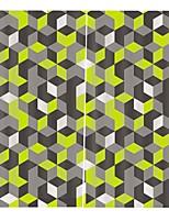 Недорогие -Горячая внешняя торговля высокое качество шторы прочный утолщенный полный оттенок ткани занавес для гостиной водонепроницаемый против морщин чистый полиэстер плотные шторы
