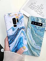 Недорогие -Кейс для Назначение SSamsung Galaxy S9 / S9 Plus / S8 Plus IMD / С узором Кейс на заднюю панель Мрамор Твердый ПК