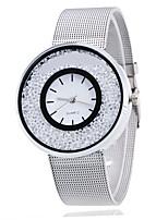 Недорогие -женщина девушка мода сплав смотреть электронное движение случайные наручные часы с движущимися стразами