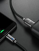 Недорогие -1,5 м Android Smart Power Off линии передачи данных Micro USB мобильного телефона QC3.0 быстрой зарядки линии зарядки второго поколения мудрый