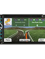 Недорогие -litbest 6116 6,2-дюймовый 2-дюймовый Android-андроид in-dash автомобильный DVD-плеер / автомобильный GPS-навигатор с сенсорным экраном / GPS / встроенный Bluetooth для универсальной поддержки Bluetoot