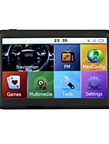 Недорогие -PAU_04US 5 дюймовый Windows CE 6.0 Автомобильный GPS-навигатор Сенсорный экран для Универсальный Поддержка MJPG MP3 JPG