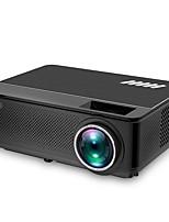 Недорогие -htp m6 светодиодный проектор Android Projetor 4500 люменов Wi-Fi поддержка Full HD 1080 P домашний кинотеатр HDMI LCD Proyector Bluetooth
