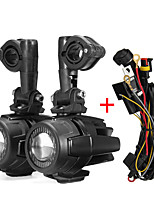 Недорогие -Второе поколение светодиодные вспомогательные противотуманные фары луч света лампы алюминиевого сплава с жгутом проводов переключатель кабель для BMW R1200gs F800gs