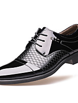 cheap -Men's Formal Shoes Synthetics Spring / Fall Casual / British Oxfords Non-slipping Black / Brown / Party & Evening