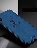 Недорогие -Кейс для Назначение Apple iPhone XS / iPhone XR / iPhone XS Max С узором Кейс на заднюю панель Мультипликация Мягкий силикагель