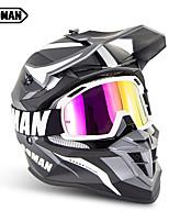 Недорогие -Зоман марки мотоцикл мотокросс шлемы sm633 мотоцикл очки sm15 очки