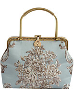 cheap -Women's Embroidery Polyester Evening Bag Embroidery Blushing Pink / Sky Blue / Blue