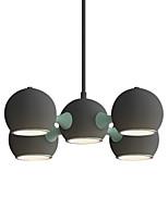Недорогие -современный простой подвесной светильник 5 светильников sputnik люстра потолочный светильник окрашенный металлический минималистский подвесные светильники для столовой