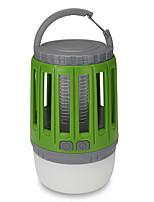 Недорогие -HS0002 Противомоскитные лампы Репеллент LED излучатели с батареей и USB кабелем Портативные Защита от ветра Прочный Походы / туризм / спелеология Повседневное использование Рыбалка