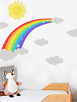 cheap -Decorative Wall Stickers - Plane Wall Stickers Rainbow Nursery / Kids Room