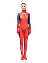 Недорогие -Вдохновлен NeonGenesis Евангелион Asuka Аниме Косплэй костюмы Японский Косплей Костюмы Назначение Жен.
