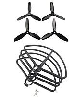 Недорогие -MJX B5W F20 1 комплект Пропеллер гвардейская / Пропеллеры RC Quadcopters RC Quadcopters ABS + PC Низкий шум / Простота установки / Прочный